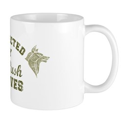 Protected by Wolves Mug