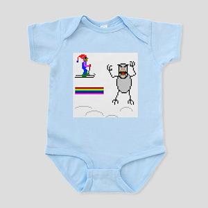 SkiFree monster! Infant Bodysuit