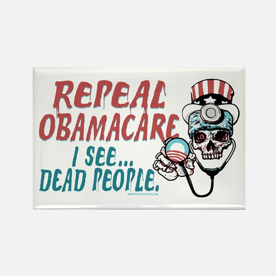 Repeal ObamaCare Rectangle Magnet