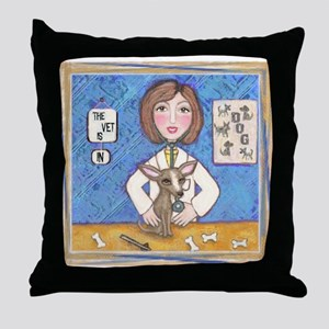 Vets With Pets 1 Throw Pillow