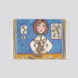 Vets With Pets 1 Rectangle Magnet