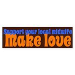 Make Love - Sticker (Bumper 10 pk)