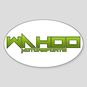 Wahoo Motorsports Sticker (Oval)