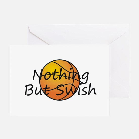 Basketball Swish Greeting Card