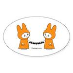Fleegan Paperdolls Sticker