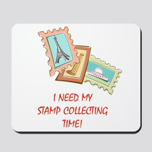 Stamp Collecting Time! Mousepad