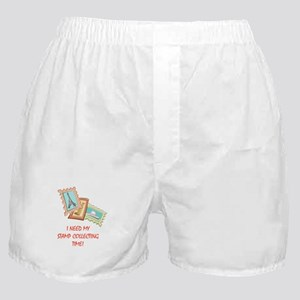 Stamp Collecting Time! Boxer Shorts