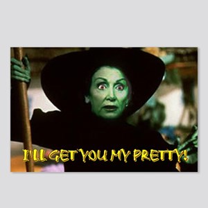 I'LL GET YOU MY PRETTY! Postcards (Package of 8)