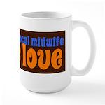 Make Love - Large Mug