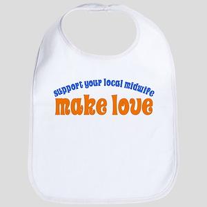 Make Love - Bib