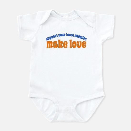 Make Love - Infant Bodysuit