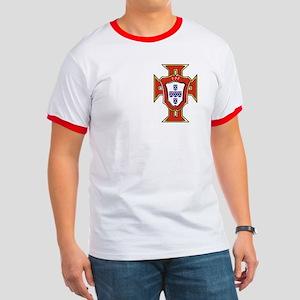 Ringer T Portuguese Football Crest