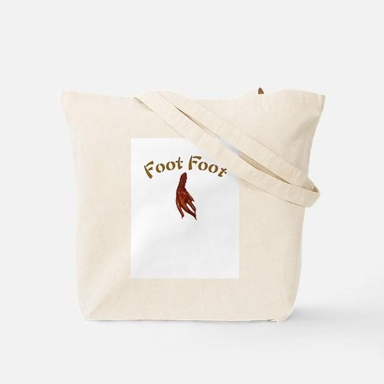 Chicken Foot Golf Tote Bag