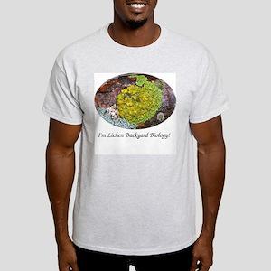 Lichen It Ash Grey T-Shirt