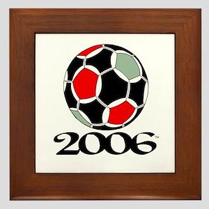 Soccer '06 Framed Tile