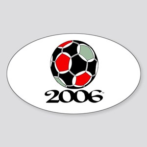 Soccer '06 Oval Sticker