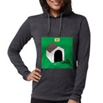 Guard Turtle Womens Hooded Shirt