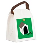 Guard Turtle Canvas Lunch Bag