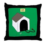 Guard Turtle Throw Pillow