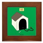 Guard Turtle Framed Tile
