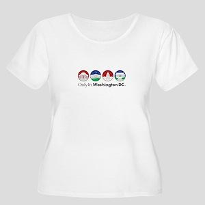 Monuments Women's Plus Size Scoop Neck T-Shirt