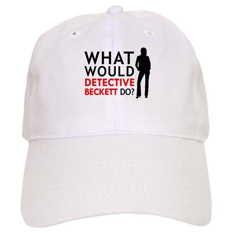 """What Would Detective Beckett Do?"" Cap"