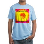 Dog Dads Rule Hfd Fitted T-Shirt