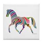 My Rainbow Horse Tile Coaster