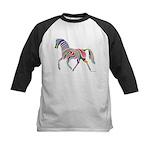 My Rainbow Horse Kids Baseball Jersey