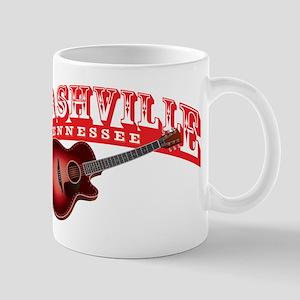 Nashville Guitar Mug