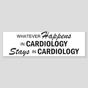 Whatever Happens - Cardiology Sticker (Bumper)