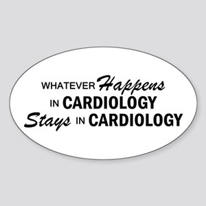 Whatever Happens - Cardiology Sticker (Oval)