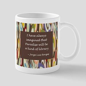 Paradise the Library Mug