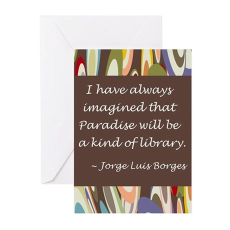 Paradise the Library Greeting Cards (Pk of 10)
