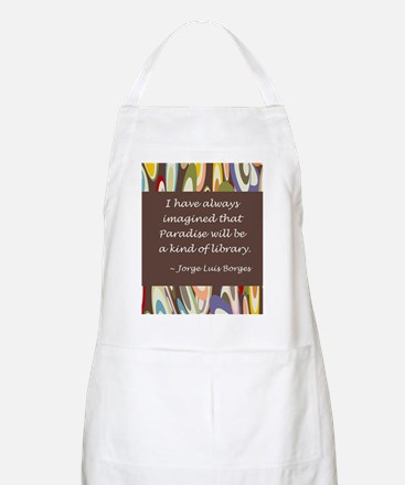 Paradise the Library Apron