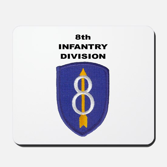 8TH INFANTRY DIVISION Mousepad