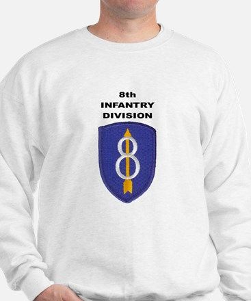 8TH INFANTRY DIVISION Sweatshirt