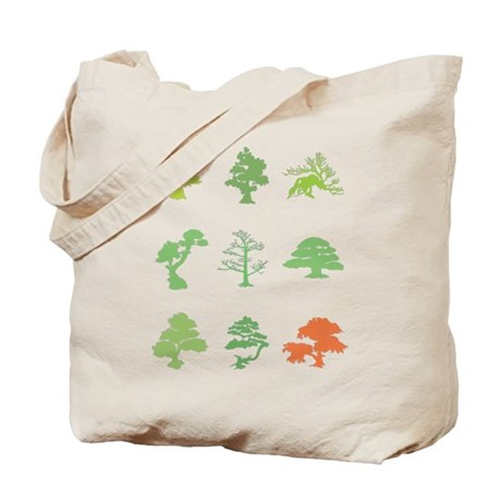 Bonsai Trees Tote Bag