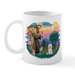 St Francis #2/ Tibetan Ter Mug