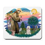 St Francis #2/ Tibetan Ter Mousepad