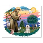 St Francis #2/ Tibetan Ter Small Poster
