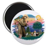 St Francis #2/ Silkies (2) Magnet