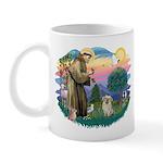 St Francis #2/ Tibetan Span (f) Mug