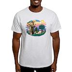 St Francis #2/ Tibetan Span #4 Light T-Shirt
