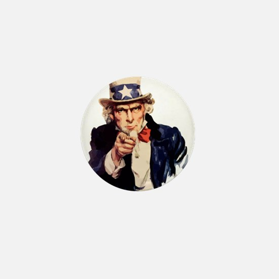 Uncle Sam Mini Button