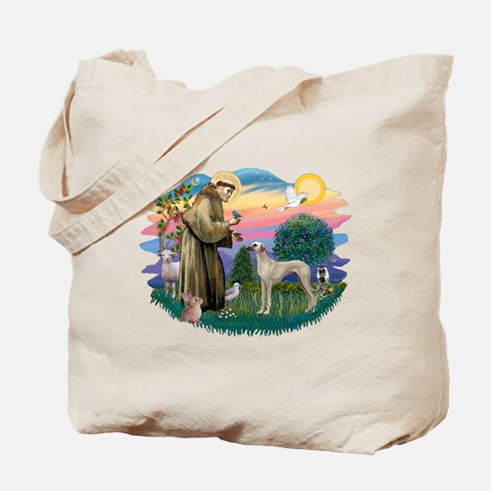 St Francis #2/ Sloughi Tote Bag