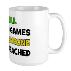 Fun & Games - Impeached Large Mug