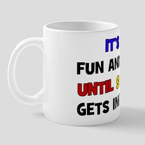 Fun & Games - Impeached Mug