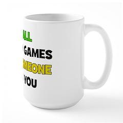 Fun & Games - PWN Large Mug