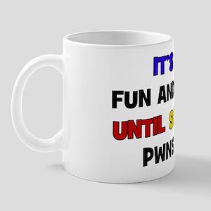 Fun & Games - PWN Mug